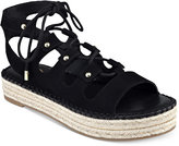 G by Guess Keeny Lace-Up Platform Espadrille Sandals