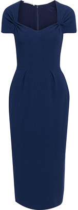Stella McCartney Angie Bow-detailed Stretch-crepe Midi Dress