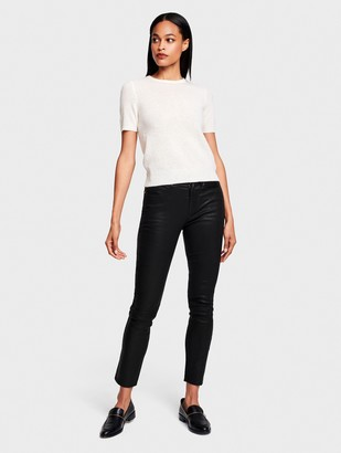 White + Warren Essential Cashmere Fitted Tee