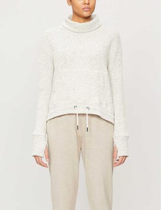 Sweaty Betty Restful cotton-blend sweatshirt