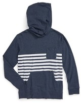 RVCA Boy's New Sins Stripe Hoodie