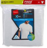 Hanes 3-pk. Short-Sleeve X-Temp Comfort Cool Tee + Bonus Tee