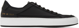 Common Projects Black Retro G-2 Low Sneakers