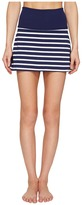 Kate Spade New York x Beyond Yoga - Sailing Stripe High Waist Skort Women's Skort