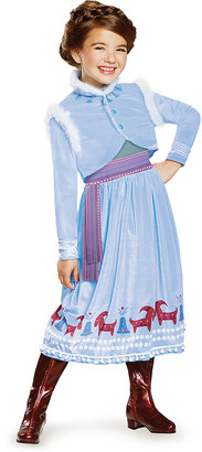 Disguise Girls' Costume Outfits - Frozen Anna Deluxe Dress-Up Outfit - Girls