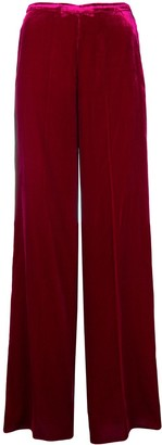 Forte Forte relaxed fit velvet trousers