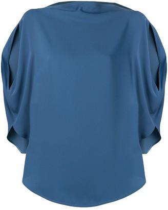 MM6 MAISON MARGIELA side slit blouse