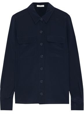 Joie Eastona Washed-silk Shirt