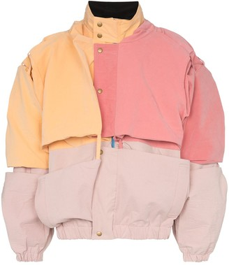 Y/Project Oversized Bomber Jacket