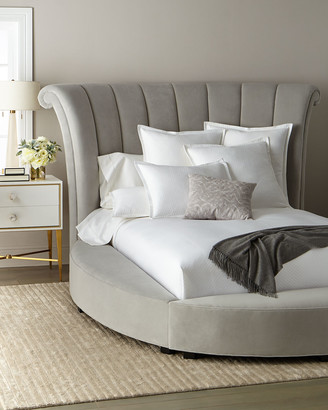 Haute House Katya Silver Queen Bed