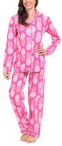 Malabar Bay Pink Paradise Organic Cotton Pajama Set
