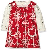 Hatley Baby-Girls Mod Infant Dress, Red, 3-6 Months