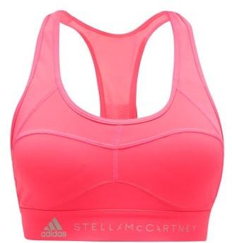 adidas by Stella McCartney Essentials Medium-impact Sports Bra - Womens - Pink