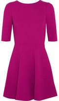 Dolce & Gabbana Stretch-wool Crepe Mini Dress - Magenta