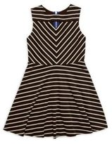 Sally Miller Girl's Rachel Horizontal Striped Dress
