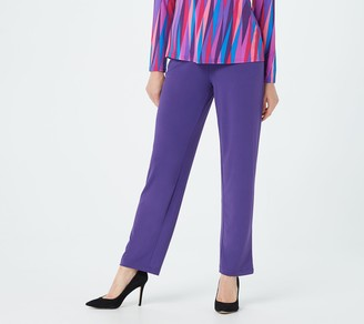 Bob Mackie Petite Pull-On Pants with Pockets