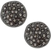 Kenneth Cole New! Silvertone Cubic Zirconia Stud Earrings