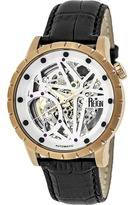 Reign Xavier Collection REIRN3905 Men's Rose Gold Stainless Steel Automatic Watch