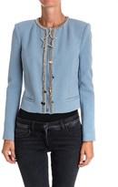 Elisabetta Franchi Women's Blue Polyester Cardigan.