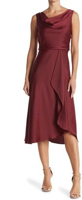 Taylor Asymmetrical Neck Dress