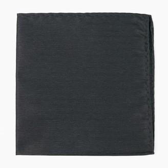 MUMU Weddings - Desert Solid Black Pocket Square