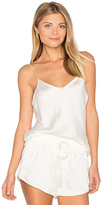Yummie by Heather Thomson Cami in White. - size L (also in S)