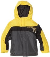 Transformers Boys 2-7 Bumblebee Puffer Jacket