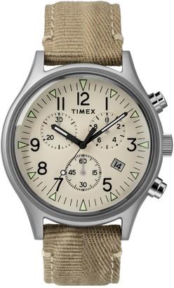 Timex Men's MK1 Chronograph Quartz SST Watch, 42mm