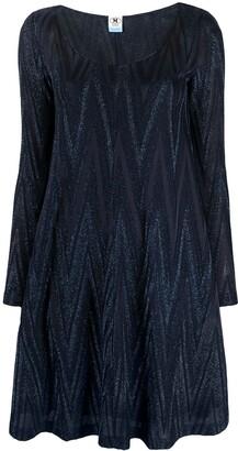 M Missoni Zigzag Pattern Mini Dress
