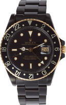 Black Limited Edition Matte Black and Gold Limited Edition Rolex Gmt Master I