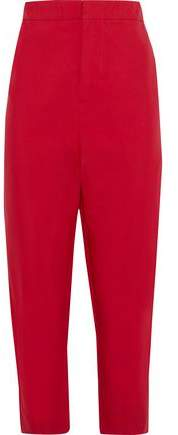 Marni Cropped Twill Tapered Pants