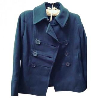 Marc Jacobs Navy Wool Coat for Women