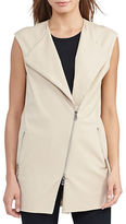 Lauren Ralph Lauren Cotton-Blend Roundneck Vest