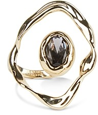 Alexis Bittar Crumpled Orbit Stone Ring