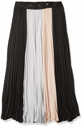 BCBGMAXAZRIA Women's MIDI Pleated Skirt