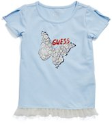 GUESS Butterfly Tee (2-6x)