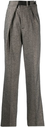 Zadig & Voltaire High-Waisted Pleated Trousers