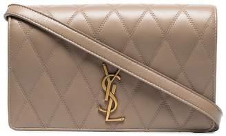 Saint Laurent Angie quilted shoulder bag