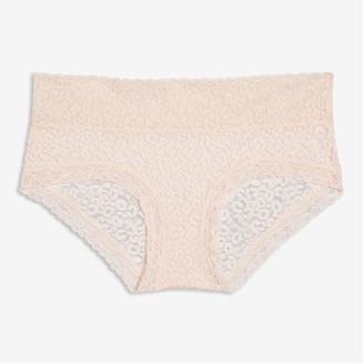 Joe Fresh Lace Boyshort, Pink (Size M)