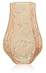 Lalique Ombelles Gold Luster Vase
