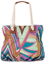 Abstract Canvas Tote