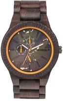 WeWood Men's Kos Multifunctional Wood Bracelet Watch, 46Mm
