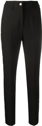 Blumarine Slim-Fit High-Waist Trousers
