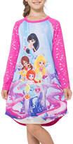 Asstd National Brand Long Sleeve Nightgown-Big Kid Girls