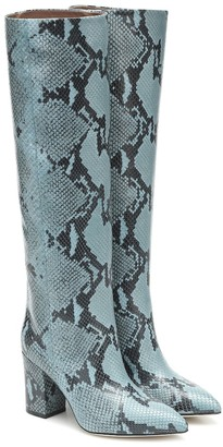 Paris Texas Leather knee-high boots
