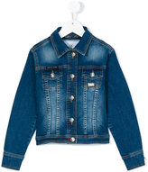 Philipp Plein Junior denim jacket