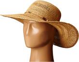 Lauren Ralph Lauren Paper Straw Open Weave Tassel Beach Hat