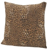 Nobrand No Brand Jersey Leopard Pillow
