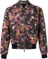 Floral Bomber Jacket Mens - ShopStyle