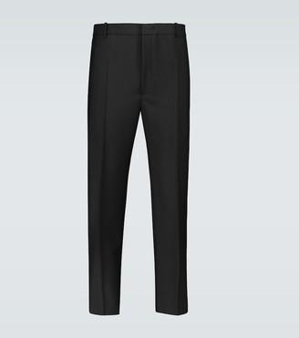 Jil Sander Wool and mohair-blend pants